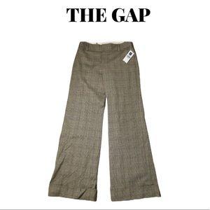 🆕  Gap Plaid Wide Leg Trousers Size 2